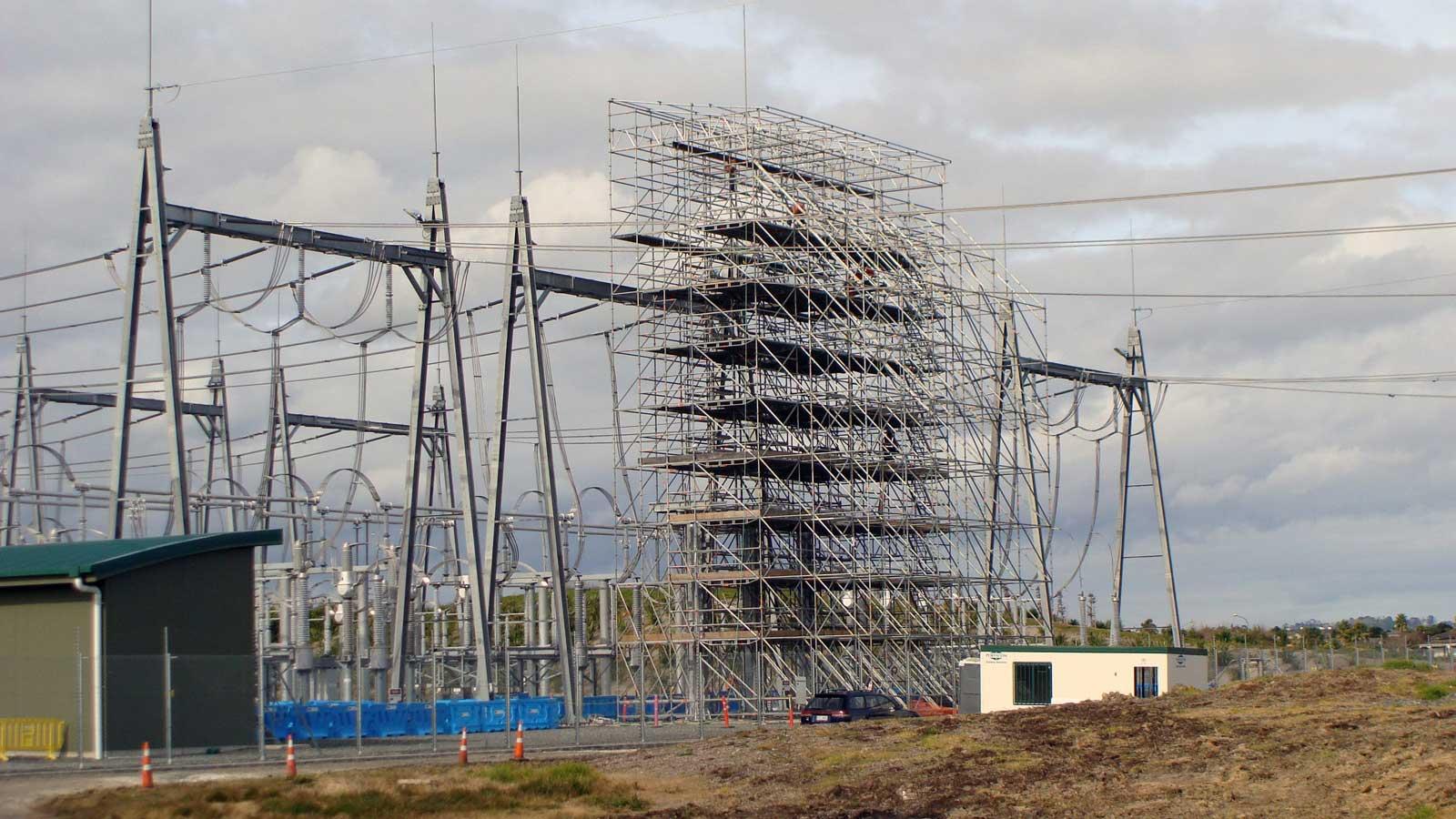 220kV Substation Scaffold - Layher