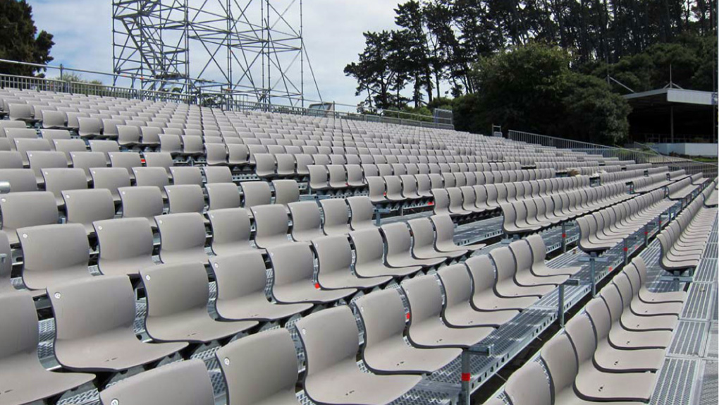Grandstand seating by Camelspace