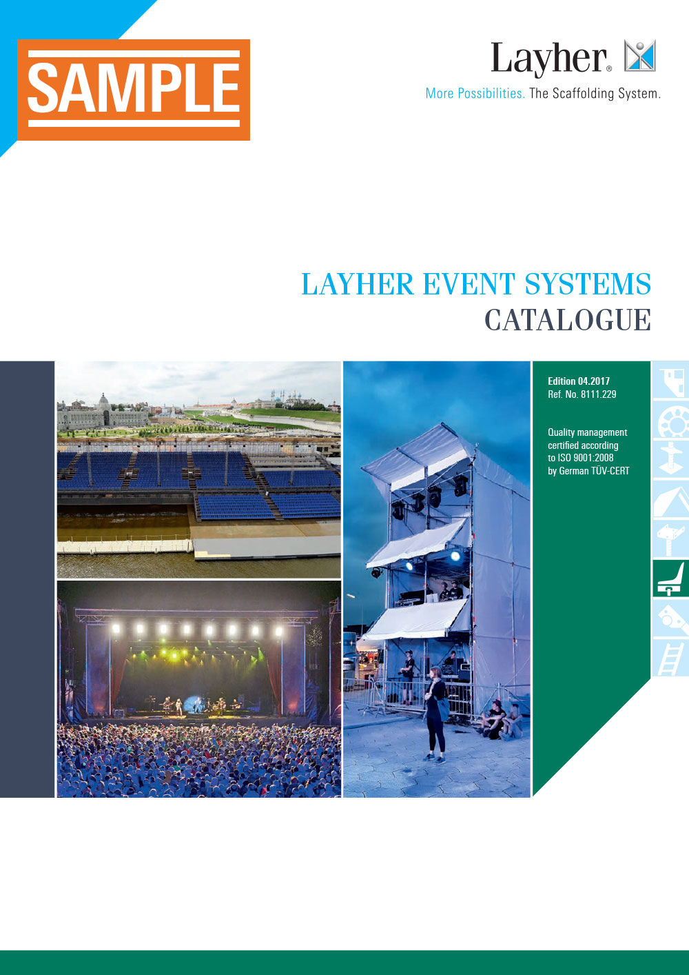 Layher Event Systems Catalogue