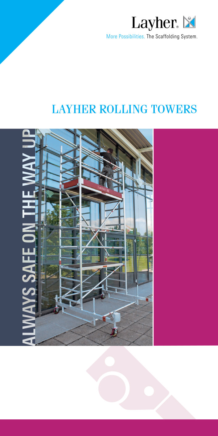 Layher Mobile Scaffold Towers Brochure