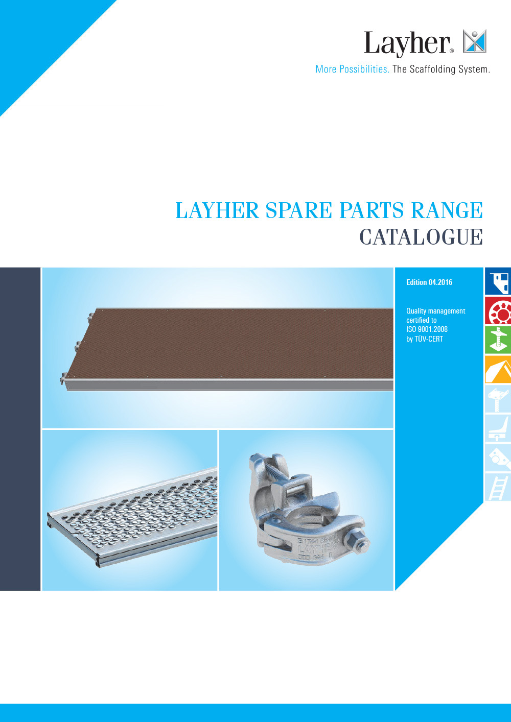 Layher Spare Parts Range Catalogue