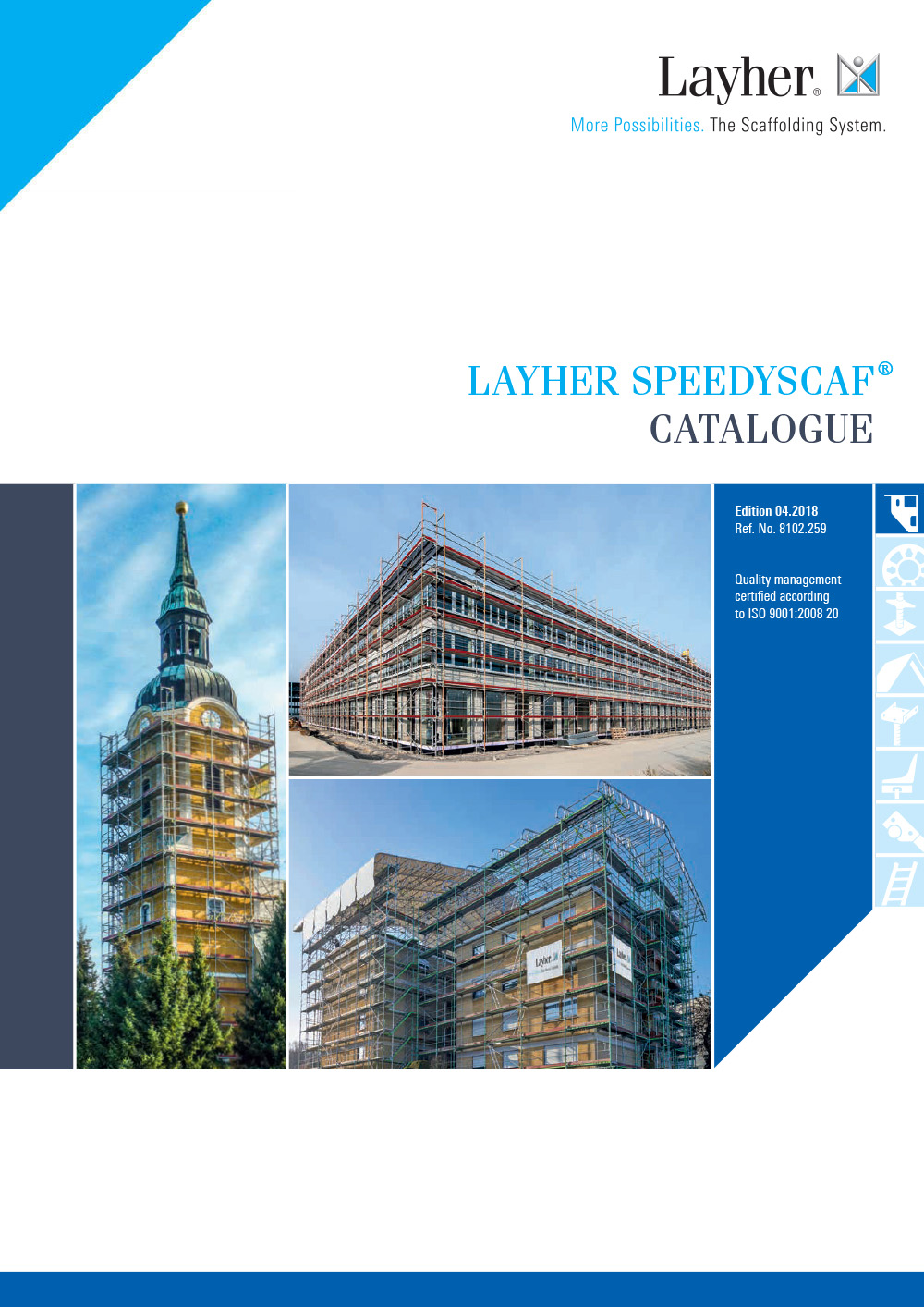 Layher SpeedyScaf System Catalogue