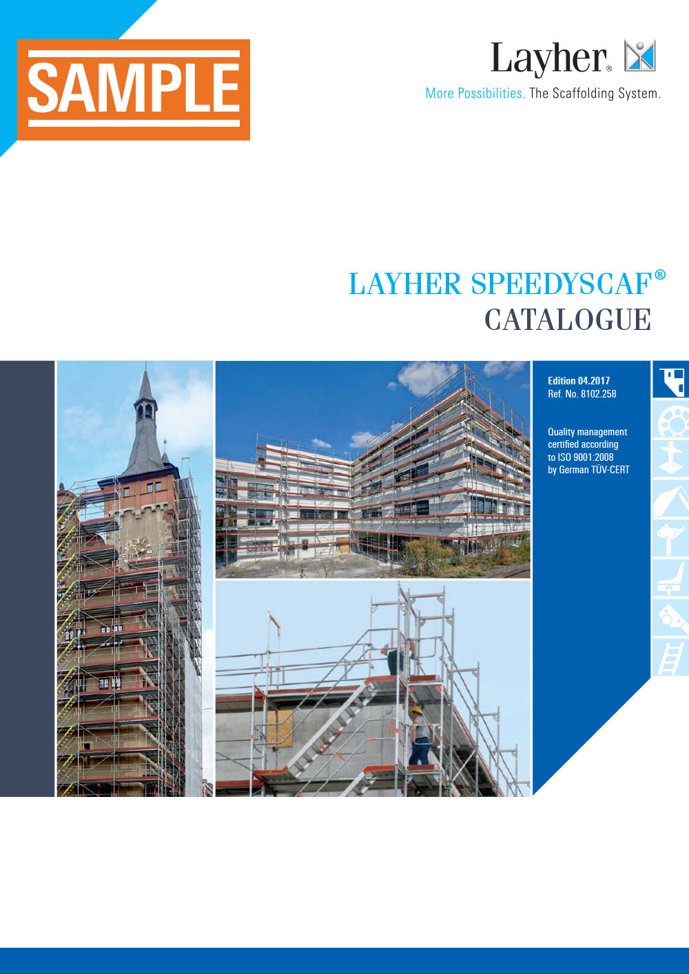 Layher SpeedyScaf Catalogue