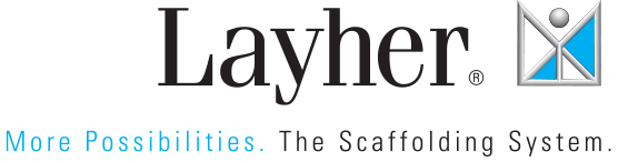 Layher. More Possibilities. The Scaffolding System.