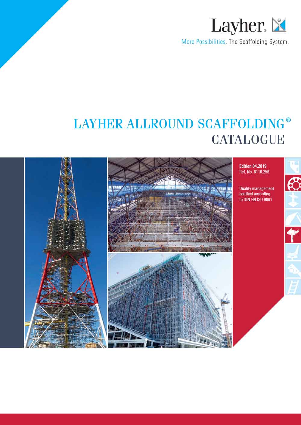 Layher Allround Scaffolding catalogue