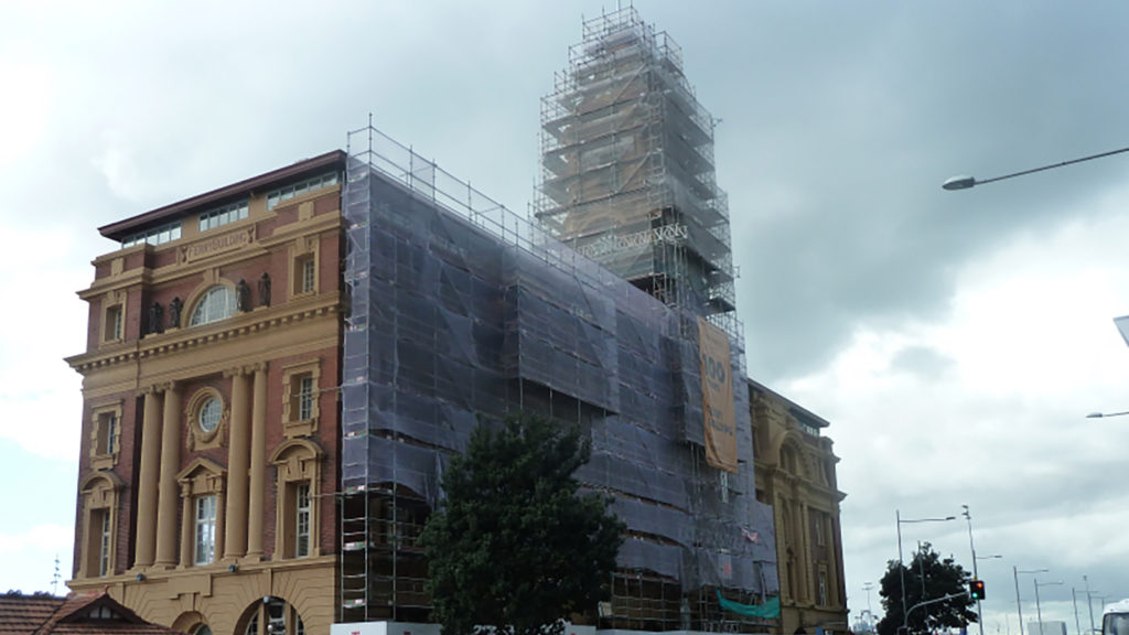 Ferry Building on Quay Street by South Pacific Scaffolding
