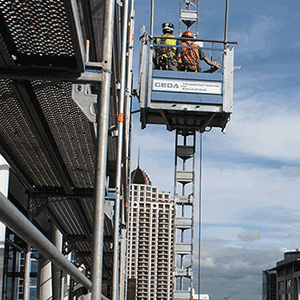 GEDA Hoists, Lifts and Rubbish Chutes