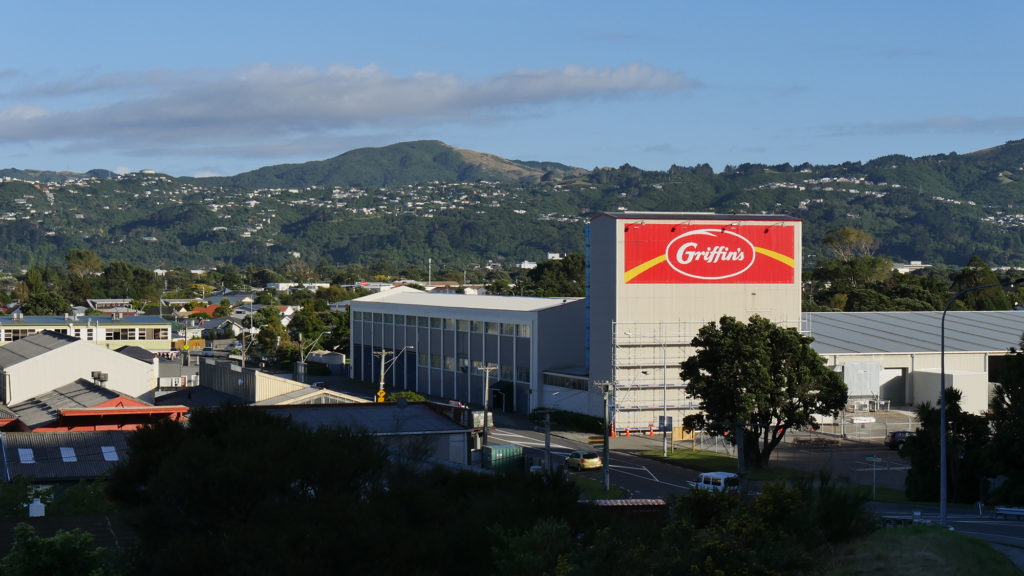 Griffin's Tower in Lower Hutt