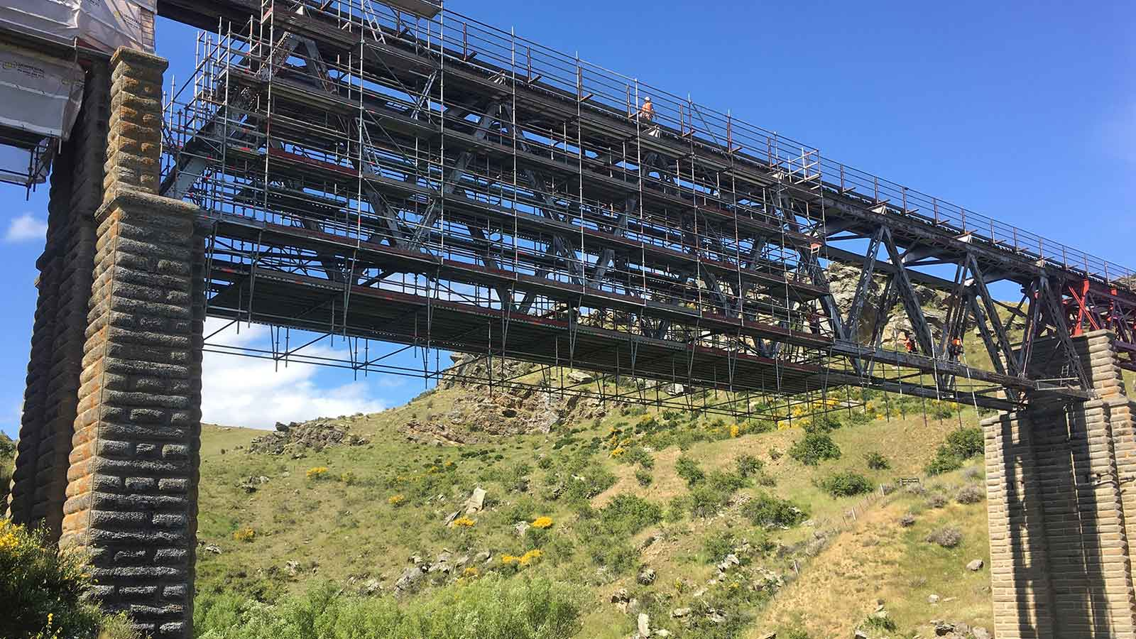 High Bridge Scaffolding by Brazier Scaffolding