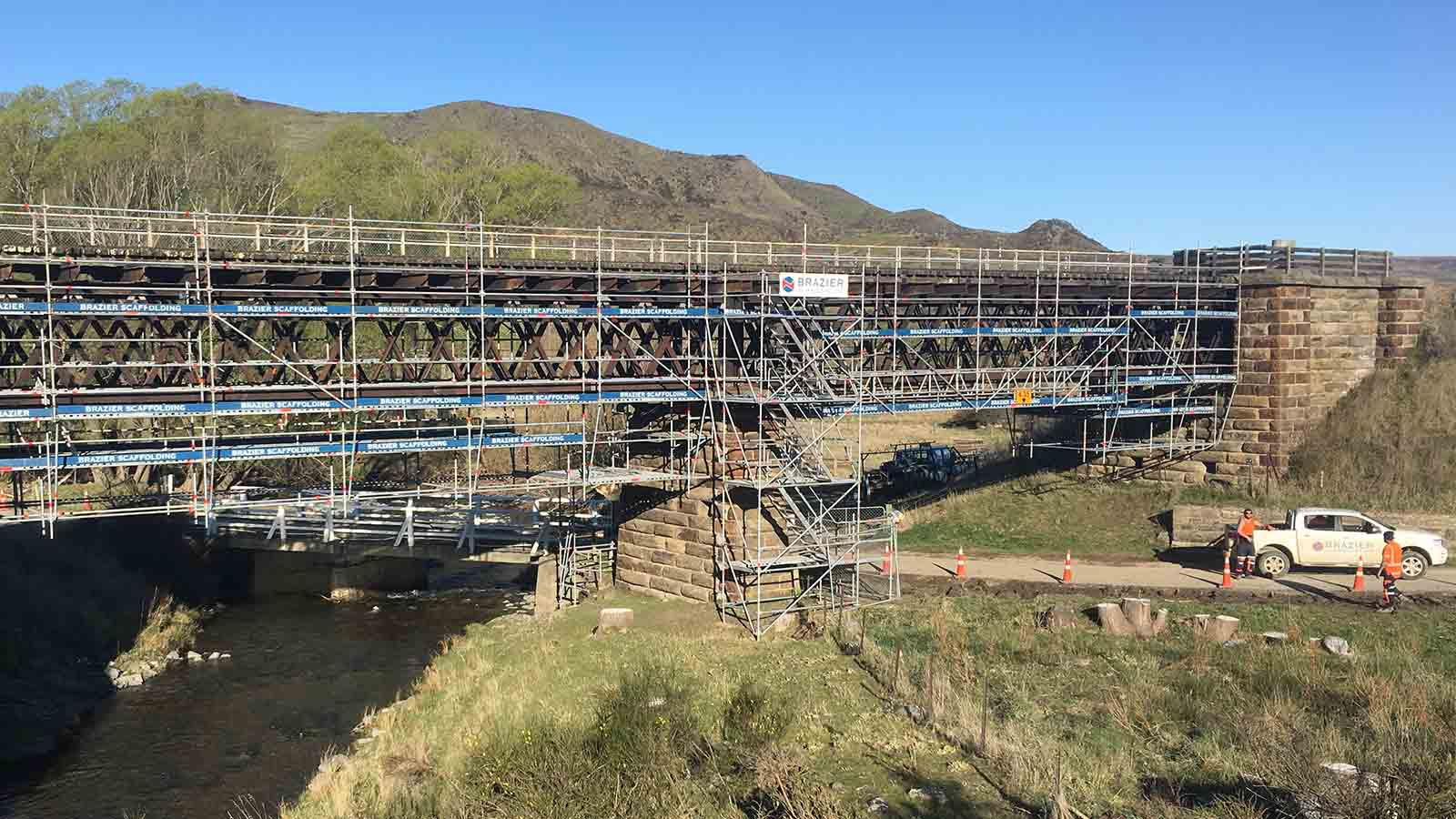 Iron Stone Bridge by Brazier Scaffolding