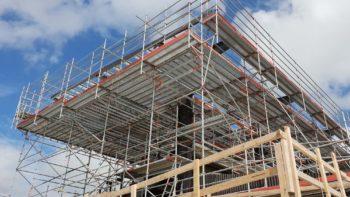 Nga Puna Wai scaffold
