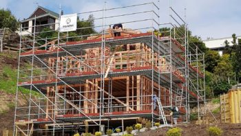 Residential scaffold savings for construction and building projects