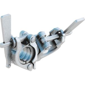 Wedge swivel coupler with spindle