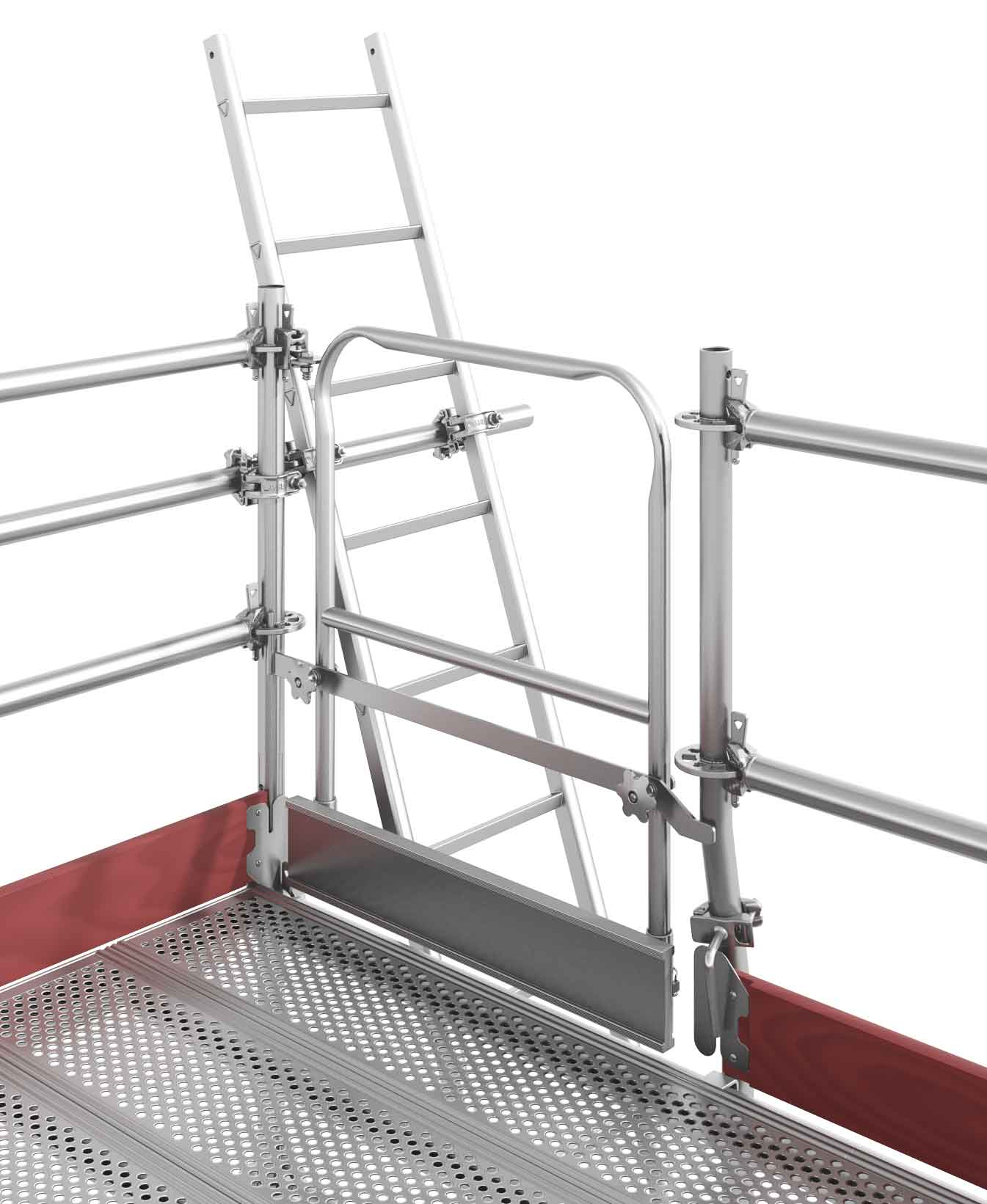 Ladder Scaffold System : Scaffold ladders layher