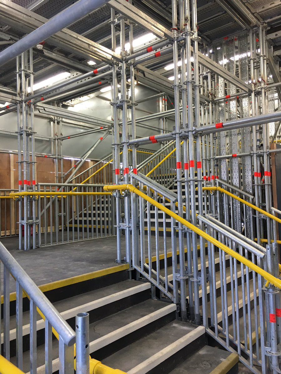Temporary Stair Solutions Layher