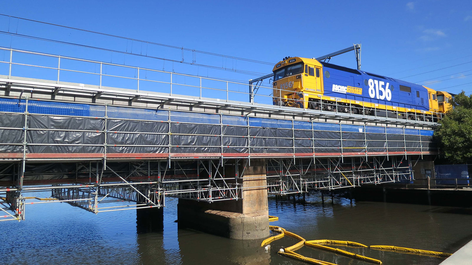 Feel Seating System Suspended Rail Bridge Layher
