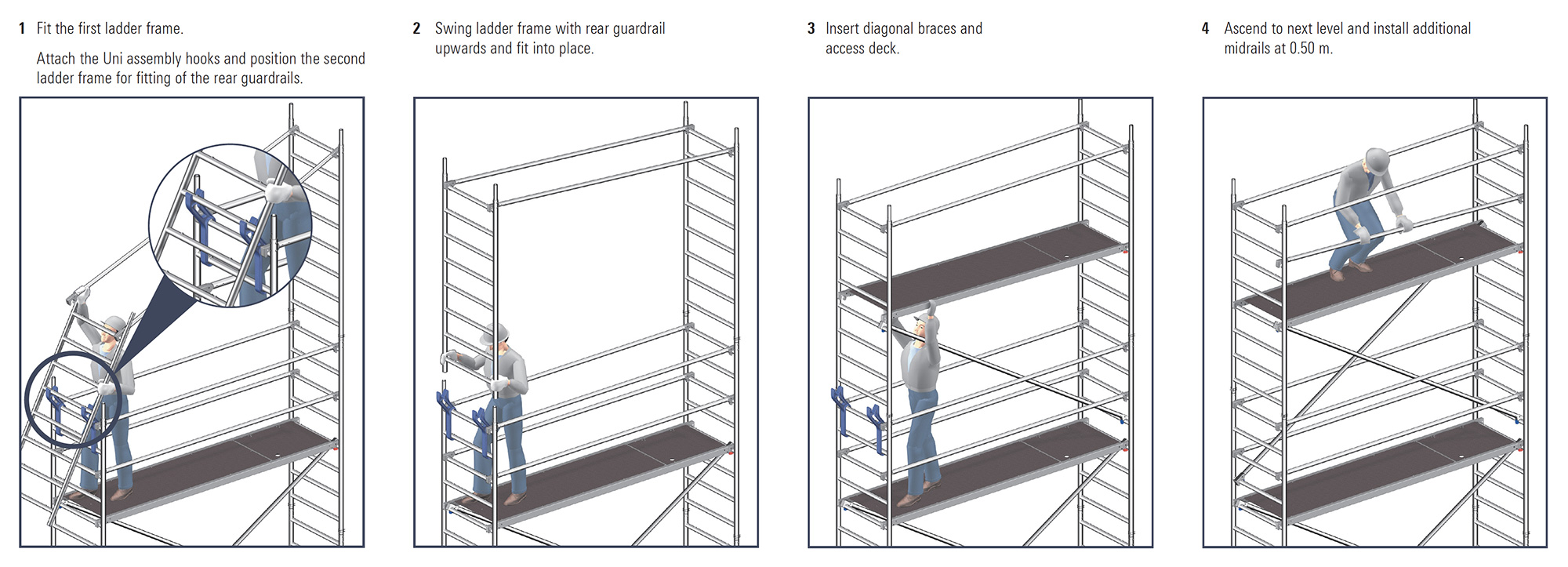 Uni assembly hooks step-by-step guide