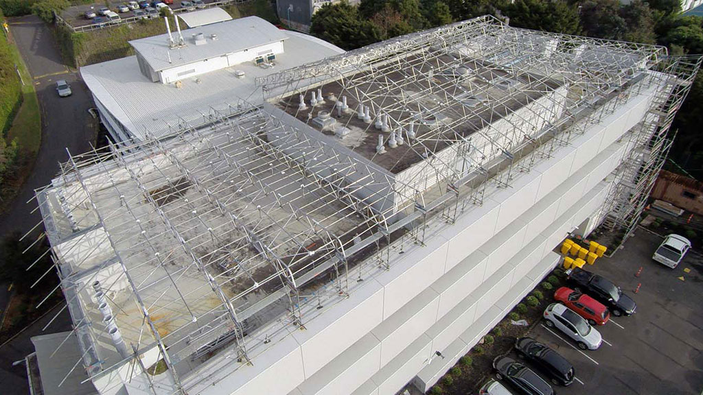 Upright Access Keder Roof by Upright Access